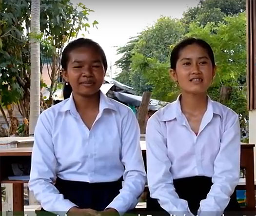 Cambodian students