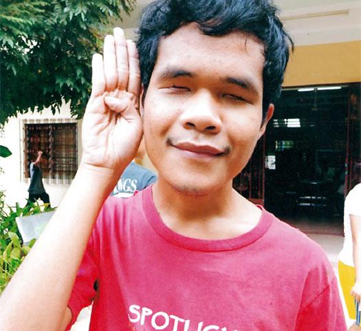 Socheat from Cambodia
